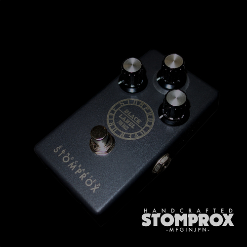 STOMPROX OVER DRIVE -BLACK LABEL for Bass- /ベース用オーバードライブ