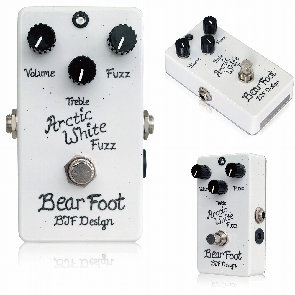 Bearfoot Guitar Effects Arctic White Fuzz