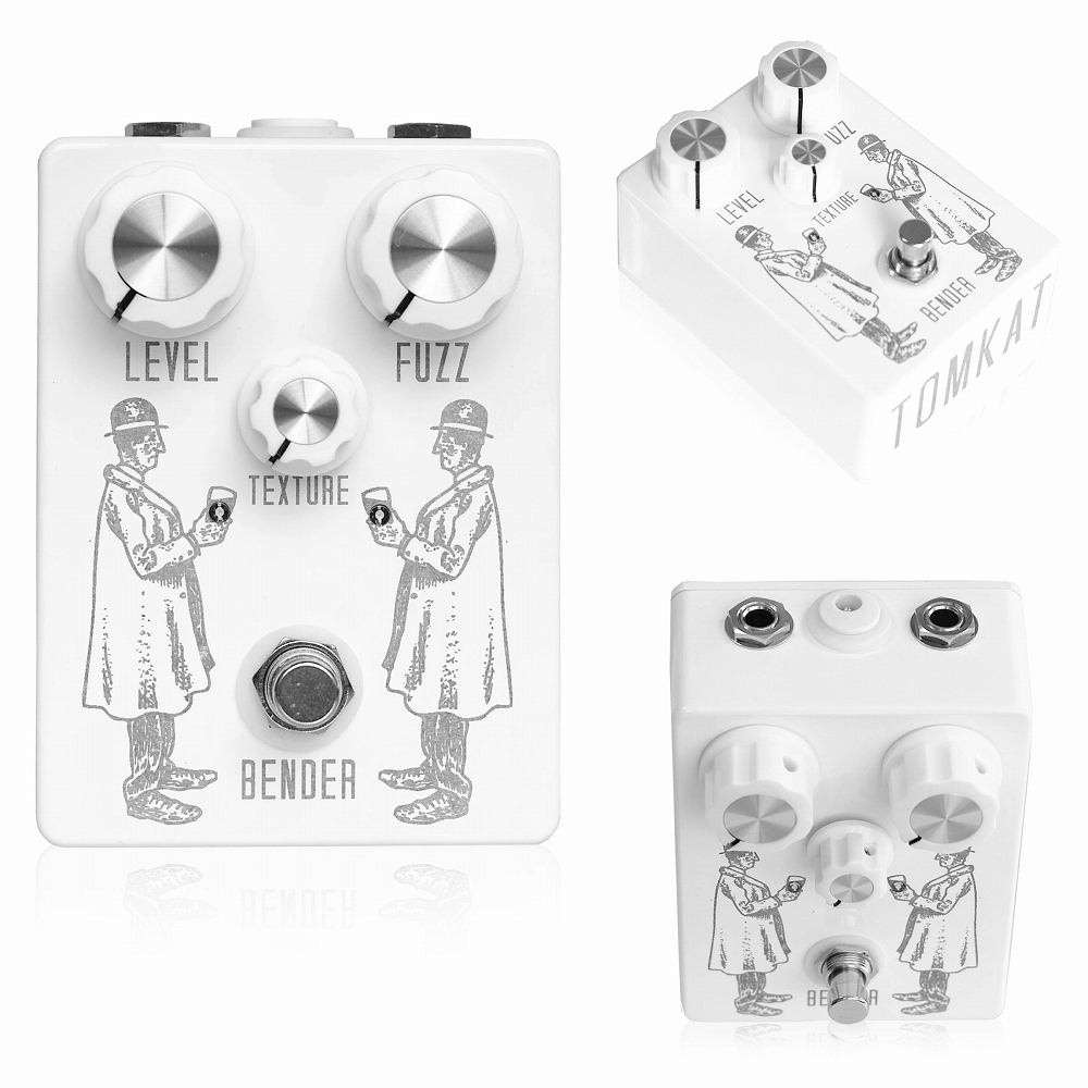 TOMKAT Pedals and Electronics BENDER FUZZ