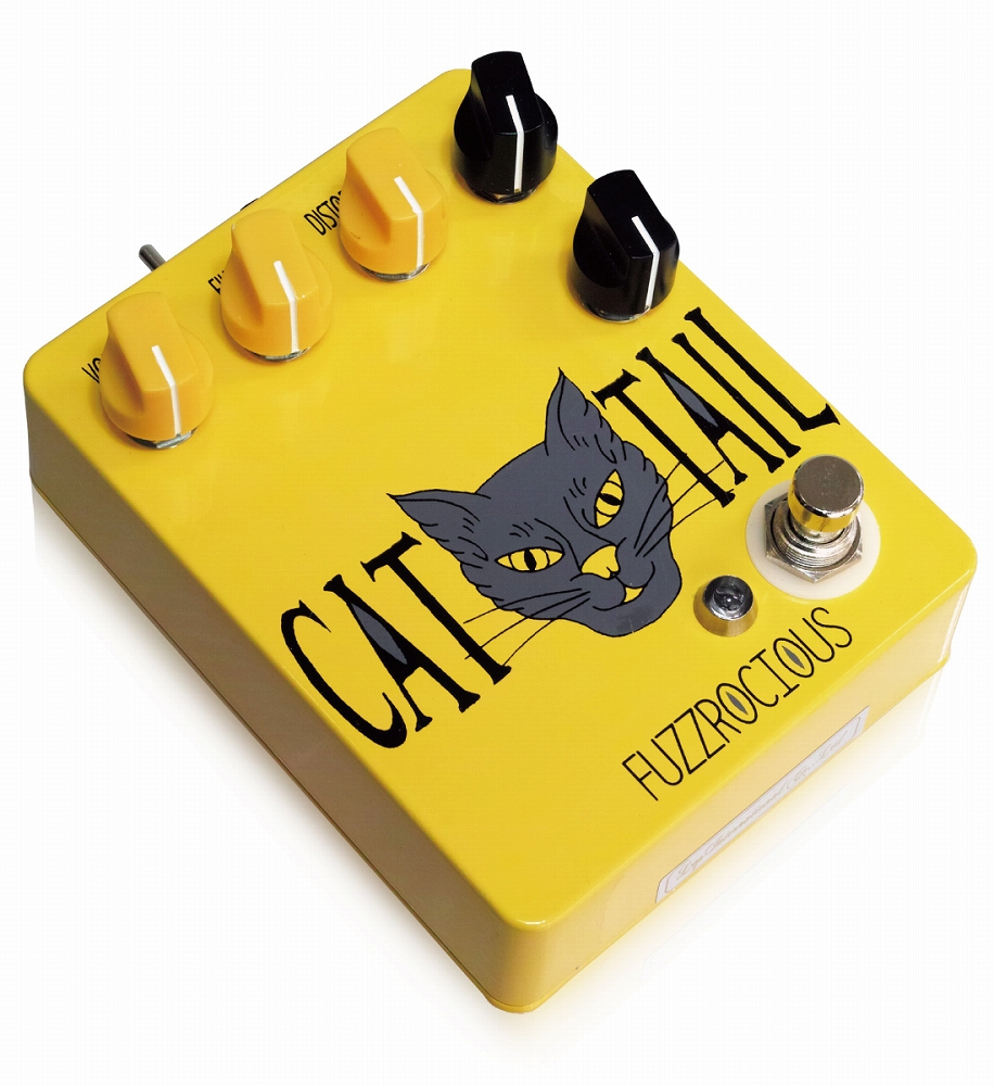 Fuzzrocious Pedals Cat Tail