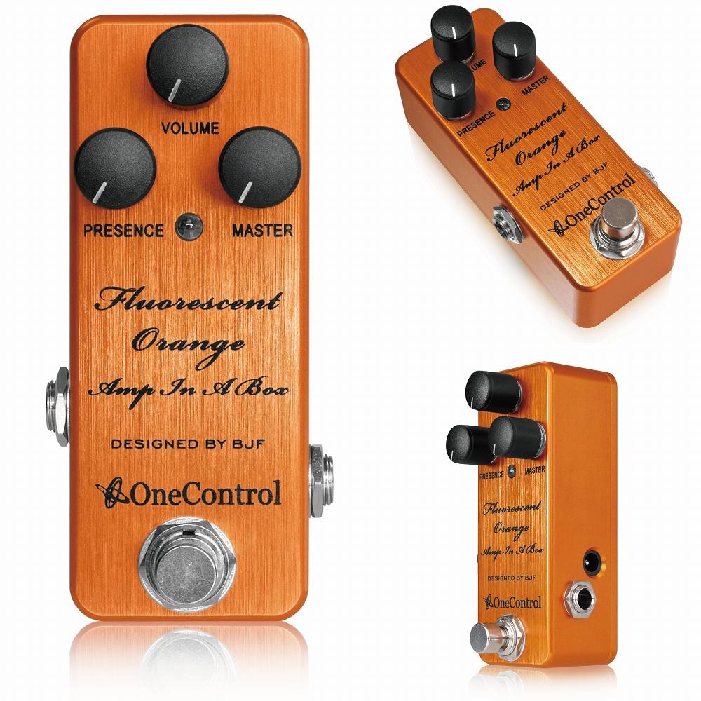 One Control Fluorescent Orange Amp In A Box  / ミニペダル