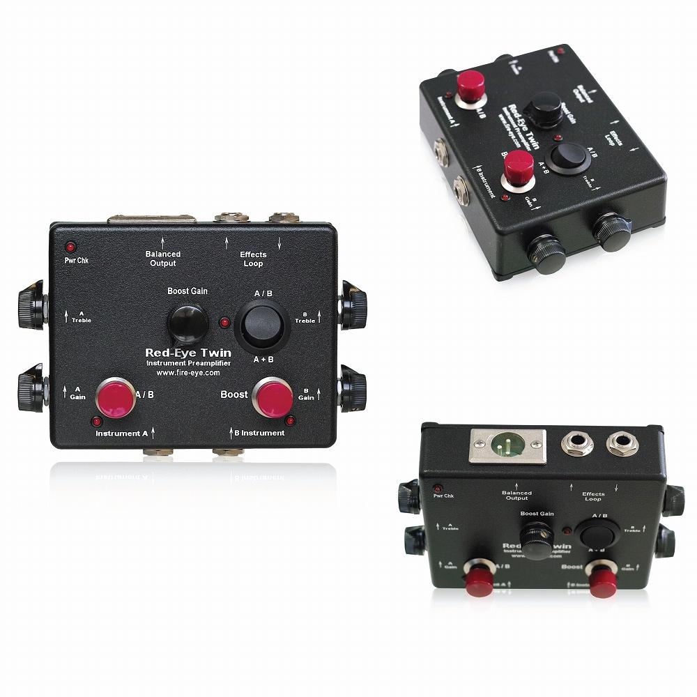 Fire-Eye Red-Eye Twin Instrument Preamplifier