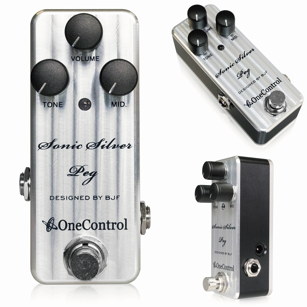 One Control Sonic Silver Peg  / ミニペダル