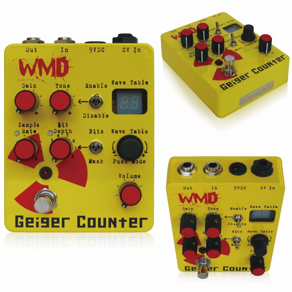 WMD GEIGER COUNTER DIGITAL DISTRUCTION