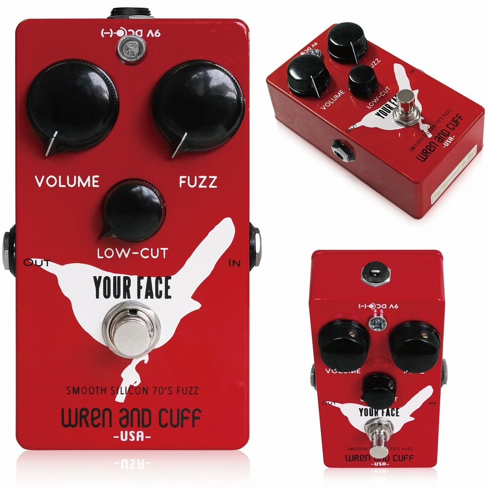 Wren and Cuff Your Face Smooth Silicon 70's Fuzz