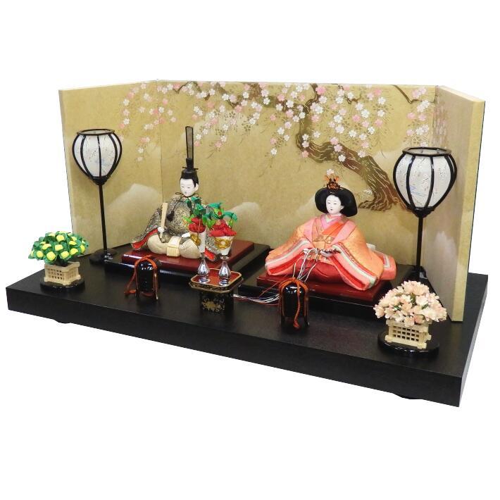 【木目込人形材料キット】【雛人形】清麗雛 平飾り
