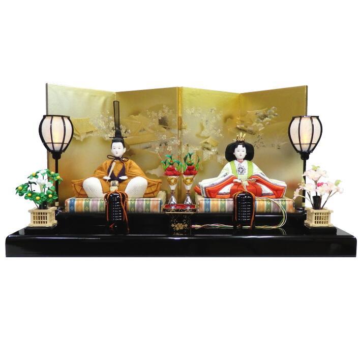 【木目込人形材料キット】【雛人形】【正絹】【令和衣装】広徳雛_令和 平飾り