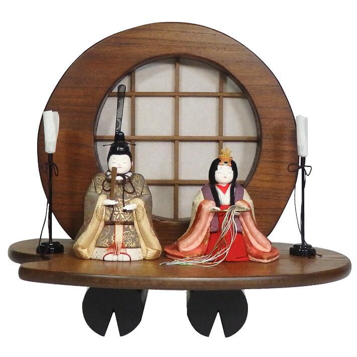 【木目込人形材料キット】【雛人形】沙羅 平飾り