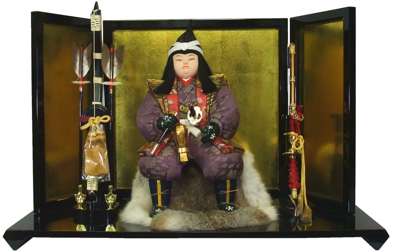 【木目込み人形】【木目込人形材料キット】【五月人形】【コンパクトな飾り】子供大将