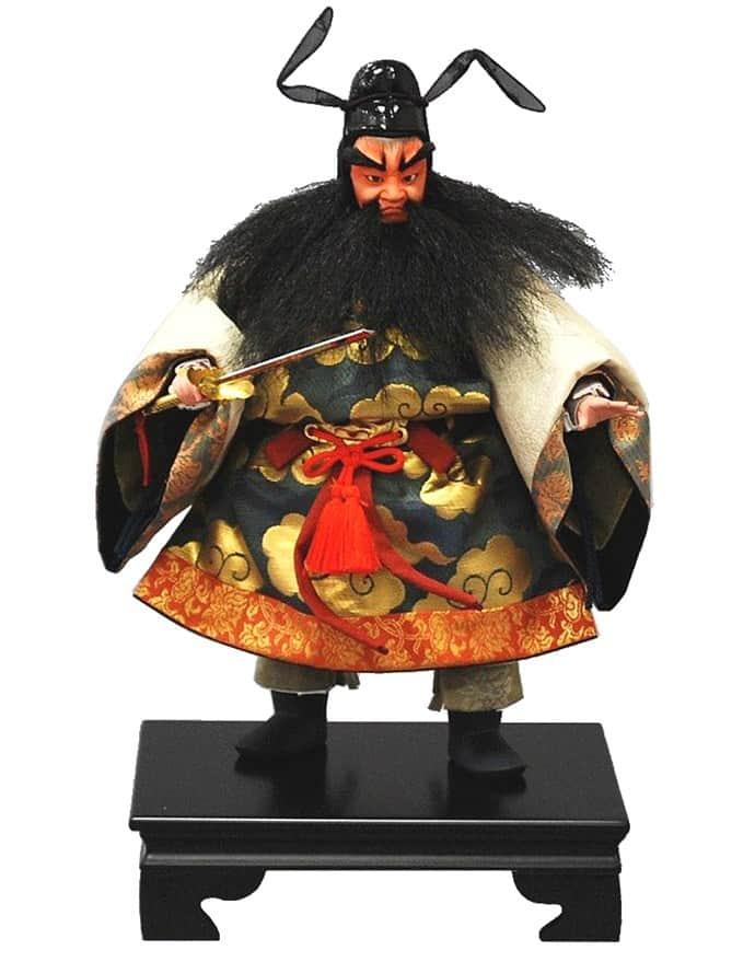 五月人形 幸一光 松崎人形 武者人形 出し飾 三五 鍾馗 【2020年度新作】 h025-koi-5220