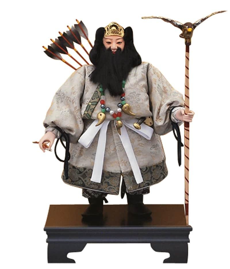 五月人形 幸一光 松崎人形 武者人形 出し飾 三五 神武 【2020年度新作】 h025-koi-5221