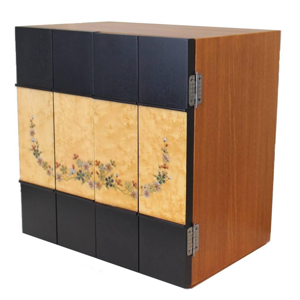 キューブ15号 桜 高45/幅43/奥30cm 仏壇本体のみの販売 モダン仏壇