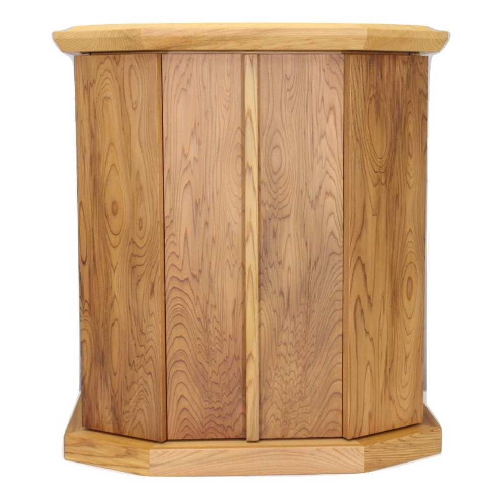 屋久杉 総無垢 仏壇16号 「屋久島」 屋久杉無垢板使用 静岡県製造