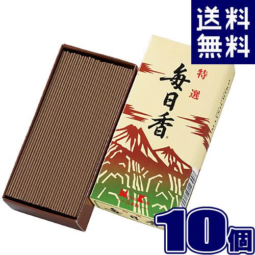 特選毎日香 バラ【×10個セット】 日本香堂 123線香 まとめ買い