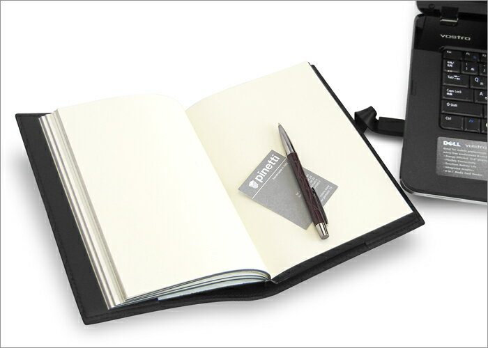 Pinetti CARBON Quattrogiga portable (USB leather journal)
