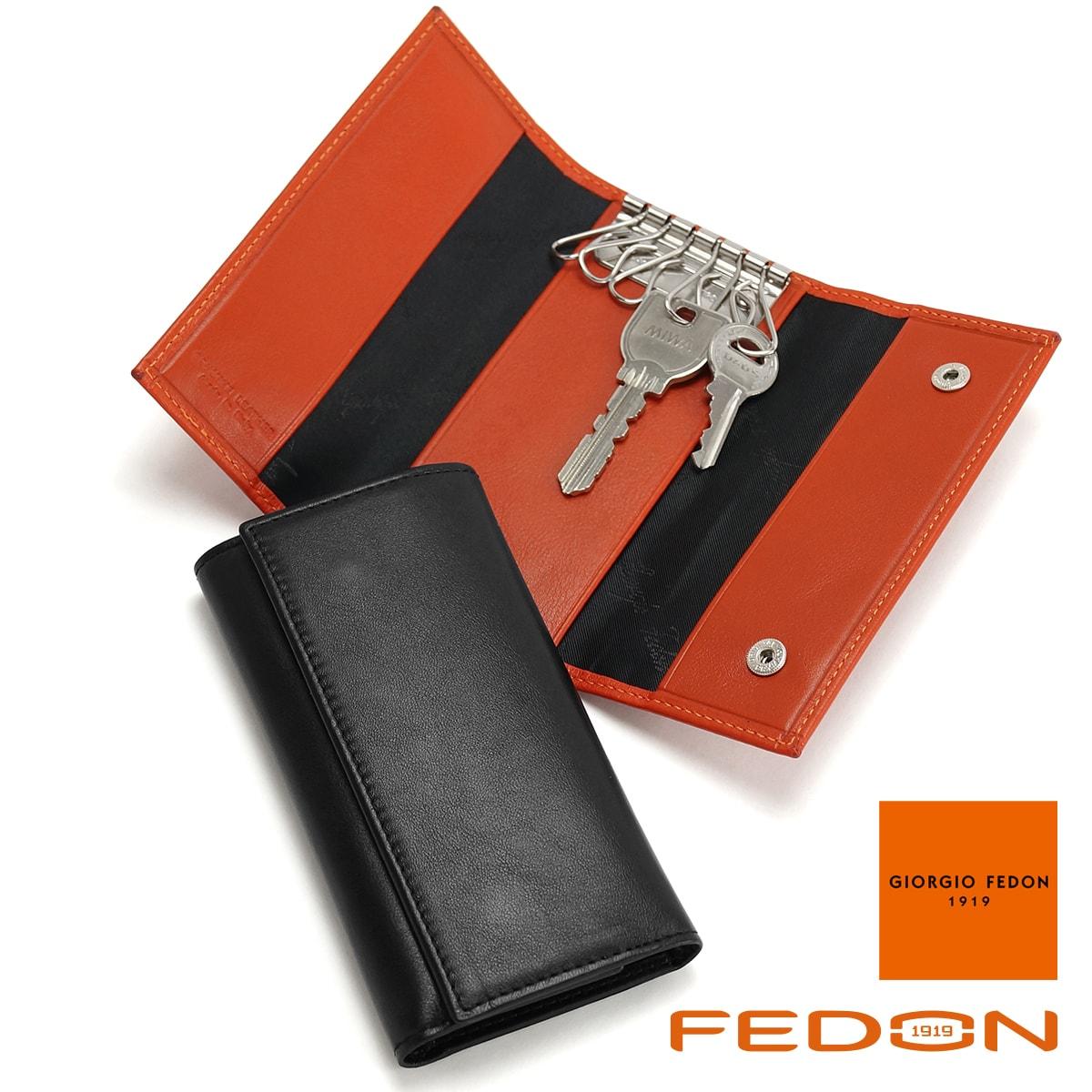 ジョルジオフェドン GIORGIO FEDON レザーキーケース 6連 P-CHIAVI-GF-N