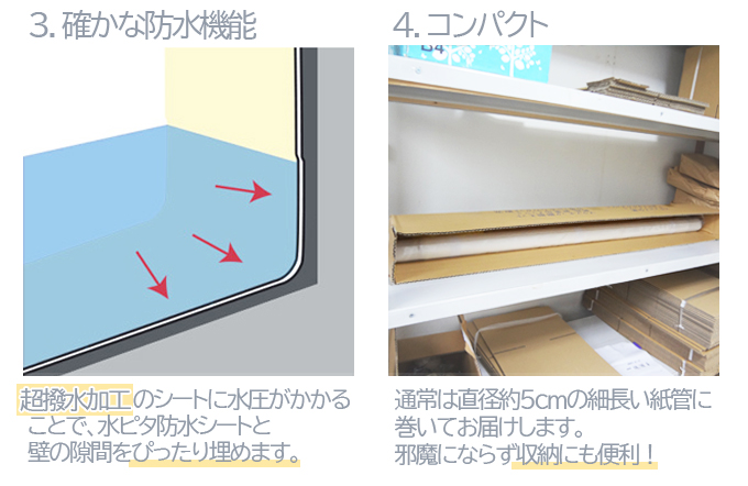 水ピタ防水シート(防水生地)台風?ゲリラ豪雨対策水害対策
