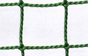 防球ネット 防球網 無結節440t(440d)60本|目合:37.5mm|グリーン|大きさ:5m×12m