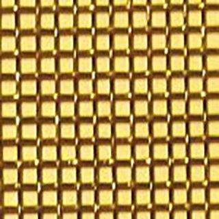 真鍮平織金網 真鍮網織 黄銅金網 17) メッシュ:80|線径(mm):0.10|長さ(m):30(一巻き)