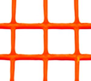 トリカルネット プラスチックネット CLV-h09 オレンジ 大きさ:幅1000mm×長さ7m 切り売り