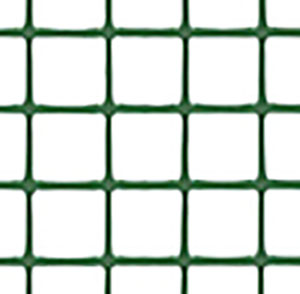 トリカルネット プラスチックネット CLV-h12 ミドリ 大きさ:幅1000mm×長さ22m 切り売り