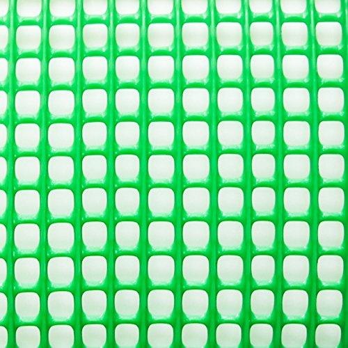 トリカルネット プラスチックネット CLV-N-523g グリーン 大きさ:幅1000mm×長さ26m 切り売り