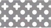 ステンレス ○+パンチングメタル 07)板厚:1.2mm|幅:1000mm×長さ:2m