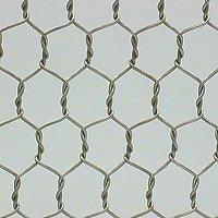 #25 ステンレス 亀甲金網 金網目開き:10mm 線径:0.40mm 巾:910mm×長さ:30m