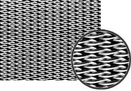 SUS316畳織メッシュ  13)メッシュ:165/1480|粒球子(μ):14|糸径(μ):0.065/0.04