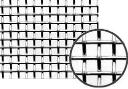 ジルコニウムメッシュ メッシュ数:50|線径(mm):0.19|目開き(mm):0.318|大きさ:100mm×0.1m
