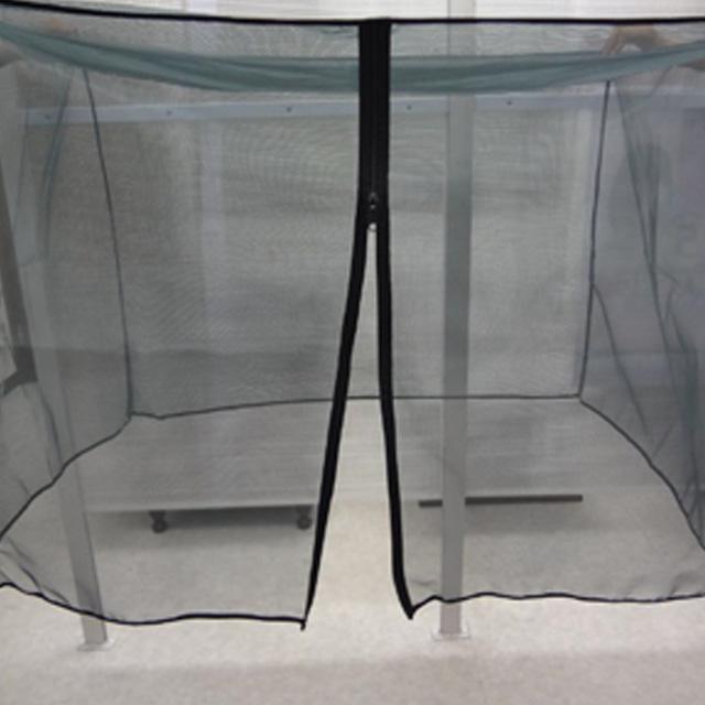 虫除けネット ペットケージ用蚊帳タイプ(98cm×70cm×高さ70cmファスナー付き)