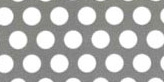 SUS304ステンレス パンチングメタル φ:6.0mm|板厚:0.8mm|幅:1000mm長さ:2000mm
