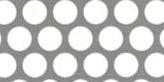 SUS304ステンレス パンチングメタル φ:8.0mm|板厚:1.2mm|幅:1000mm長さ:2000mm