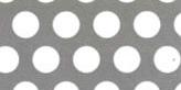 SUS304ステンレス パンチングメタル φ:8.0mm|板厚:3.0mm|幅:1000mm長さ:2000mm