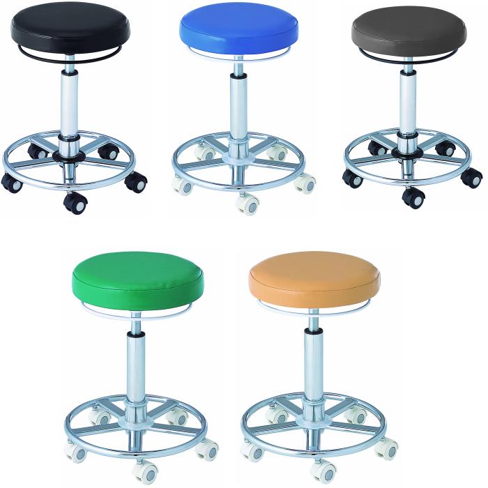 スター カッティング チェア Y リング ステップ付き 美容室 チェア 器具