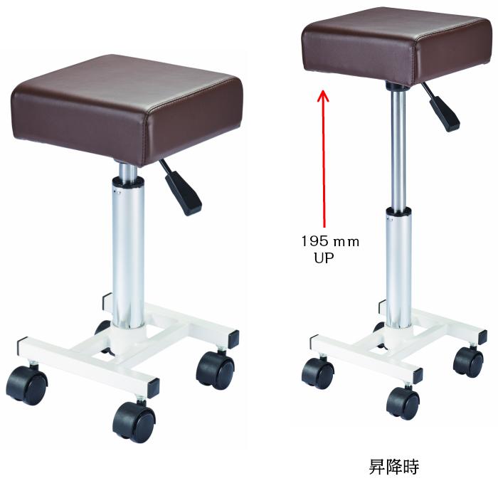 Y スリム スツール 美容室 チェア 器具