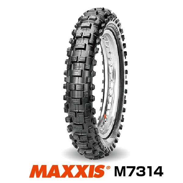 法人宛送料無料 モトクロス 初売り 120 90-18 65R TT FIM ENDURO マキシス セール価格 Maxxcross リア用 KTM EXCシリーズ純正採用 M7314 エンデューロ EN MAXXIS■2019年製■