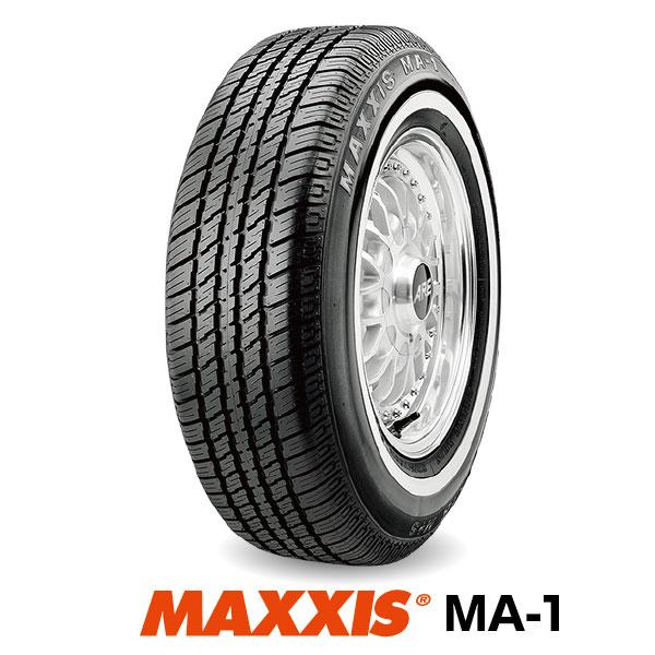 【法人宛送料無料】ホワイトリボンタイヤ2本セット P215/70R14 96S マキシス MA-1 MAXXIS White Ribbon MA1■2019年製■