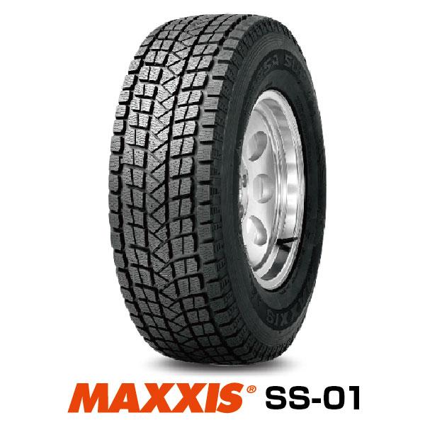 法人宛送料無料 ■2020年製■ スタッドレスタイヤ 225 60R18 SUVタイヤ SS-01 MAXXIS 通信販売 返品不可 100T マキシス