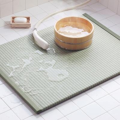 送料無料 日本の心 お風呂場でも和の温もりを 〈 浴座好 〉TATAMI MAT(畳マット) | 株式会社燈心草・熊本県