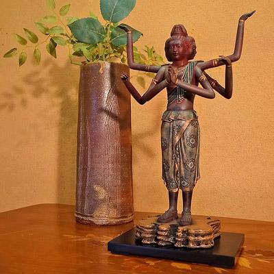 送料無料 仏像彫刻の傑作 阿修羅像 | 株式会社謙信・東京都