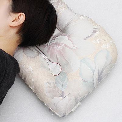 送料無料 息夢枕(専用枕カバー付) 創業150年 枕の吉川ふとん・京都府