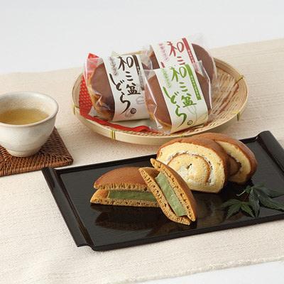 和菓子 どら焼き ロールケーキ セット お取り寄せ和菓子 sweets 和三盆 株式会社岡萬商店 徳島県