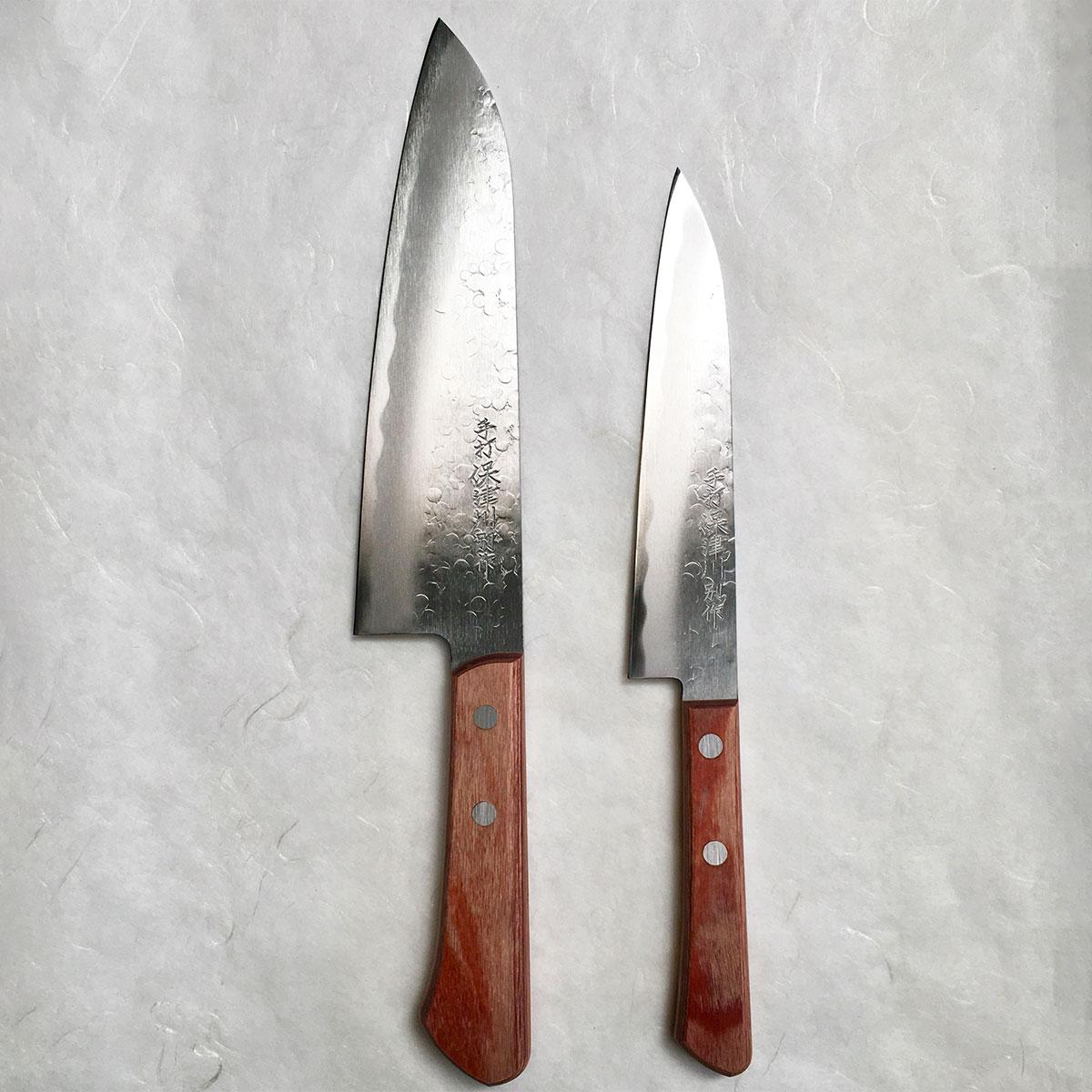 錆びに強く、切れ味が長続き 京刃物 義定作 保津川2点セット