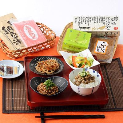 原材料はすべて国産大豆 高畠納豆 豆食彩セット