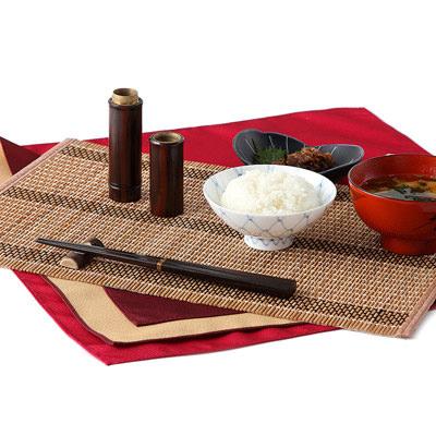送料無料 素朴な木の温かさを感じる 京都美山で作られた つなぎ箸セット