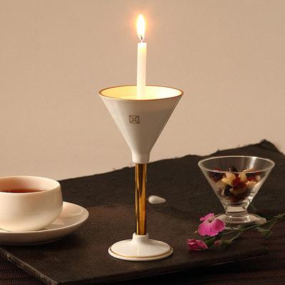 送料無料 有田焼の特徴透き通る白さが美しい 有田焼燭台 白磁