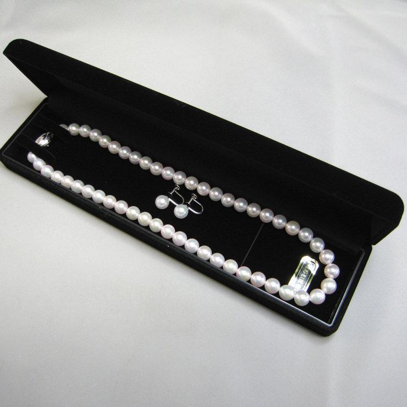 あこや真珠 ネックレス 本真珠 イヤリング 伊勢志摩 真珠ネックレス パール ジュエリー セット