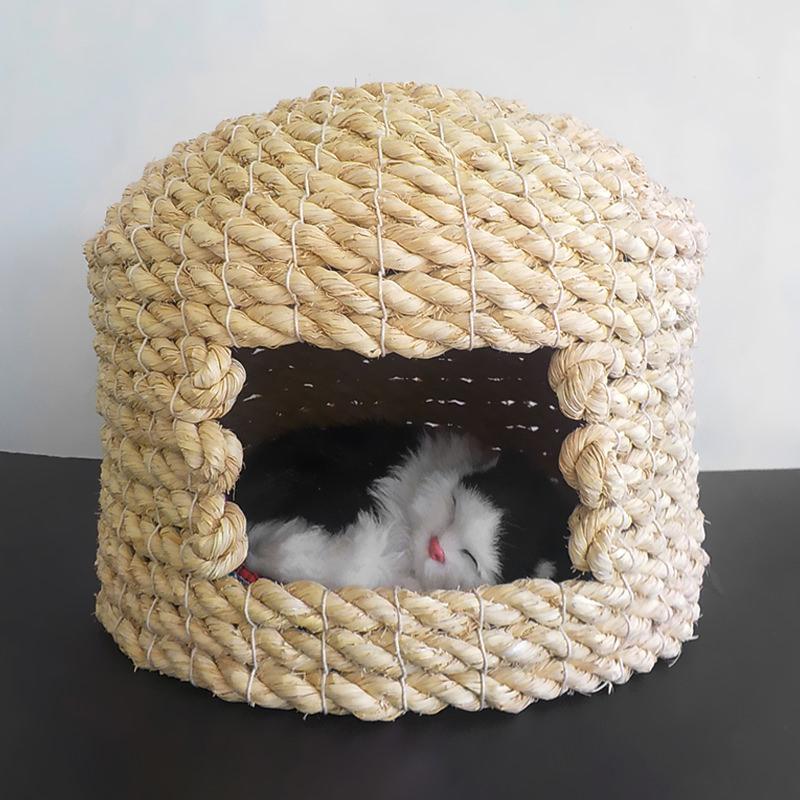 送料無料 猫ちぐら 中 1800g キャットハウス