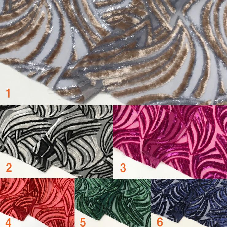 セール 登場から人気沸騰 豊富な5色展開 ステージ衣裳に人気 上品 起毛加工の高級なカットジャガードです リオンベルベットゼブラ柄112巾 無地 生地 布